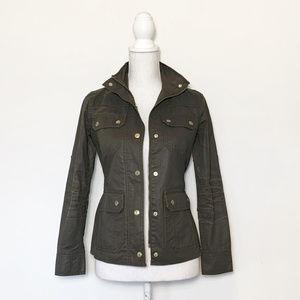 J Crew XXS olive utility jacket